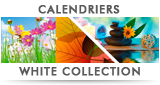 Calendriers White Collection